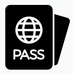 Digital Passport Photos Icon